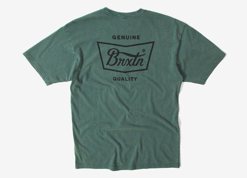 Brixton Stith T Shirt - Emerald