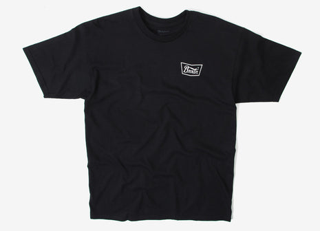 Brixton Stith T Shirt - Black/White