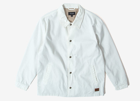 Brixton Wright Jacket - Off White