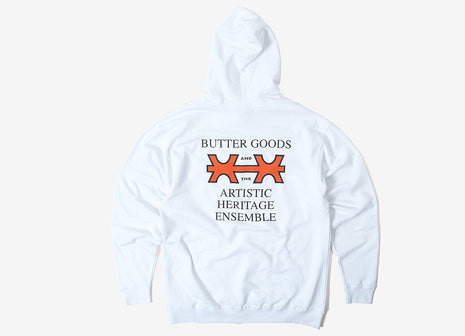 Butter Goods Cohran Pullover Hoody - White