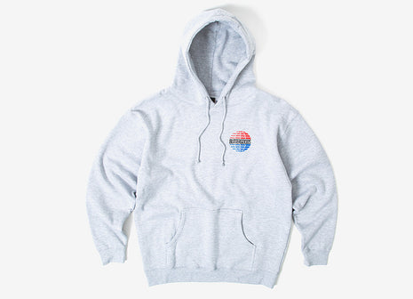 Butter Goods Multi National Logo Pullover Hoody - Heather