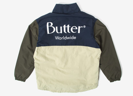 Butter Goods Track Jacket - Forest Navy