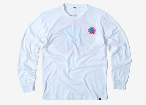 By Parra Party Long Sleeve T Shirt - White