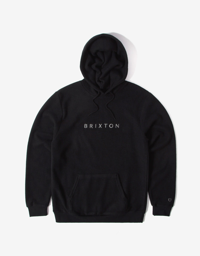 Brixton Alpha Line Hoody - Black (SP21)