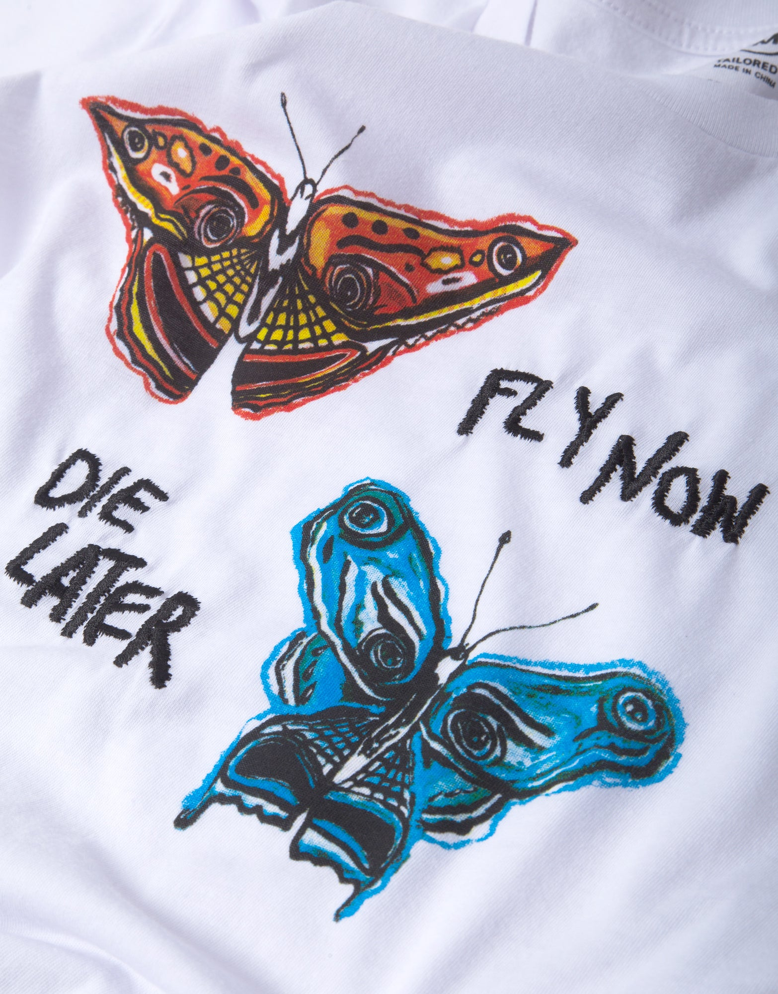 Brixton BB Fly Now T Shirt - White