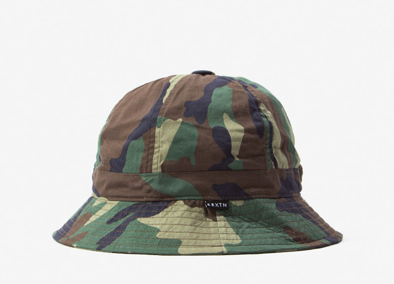 Brixton Banks II Bucket Hat - Woodland Camo