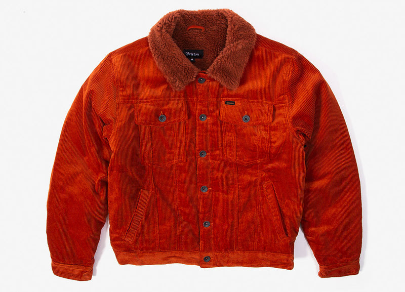 Brixton Cable Sherpa Jacket - Picante