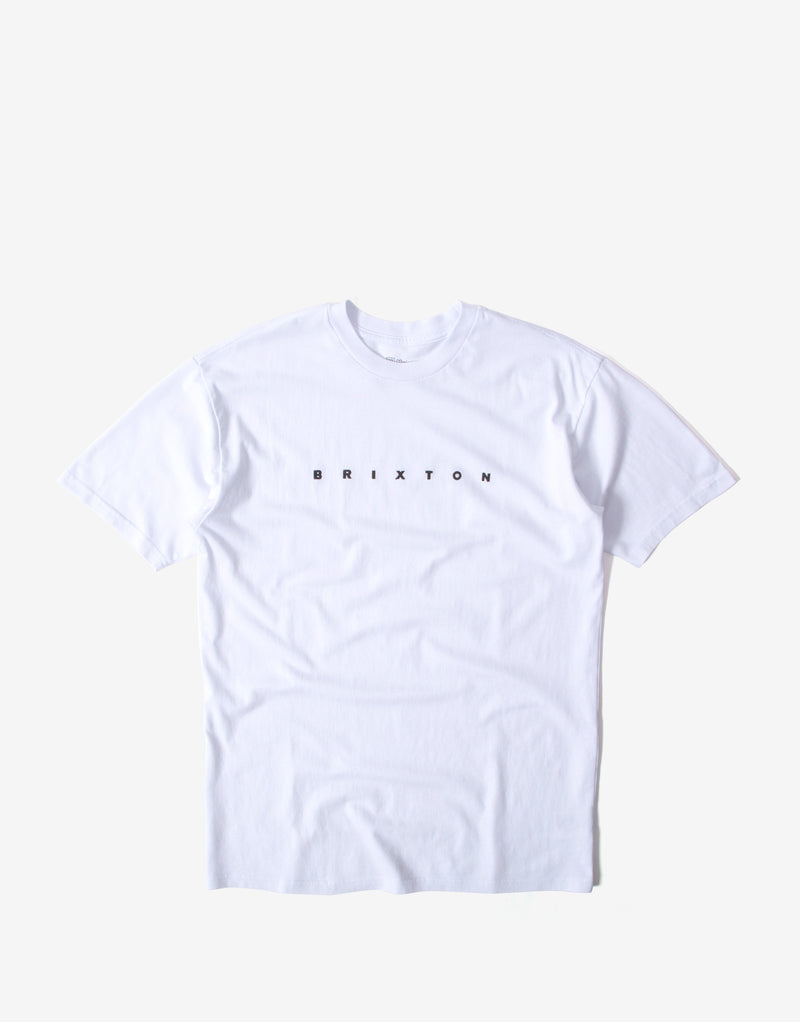 Brixton Cantor T Shirt - White