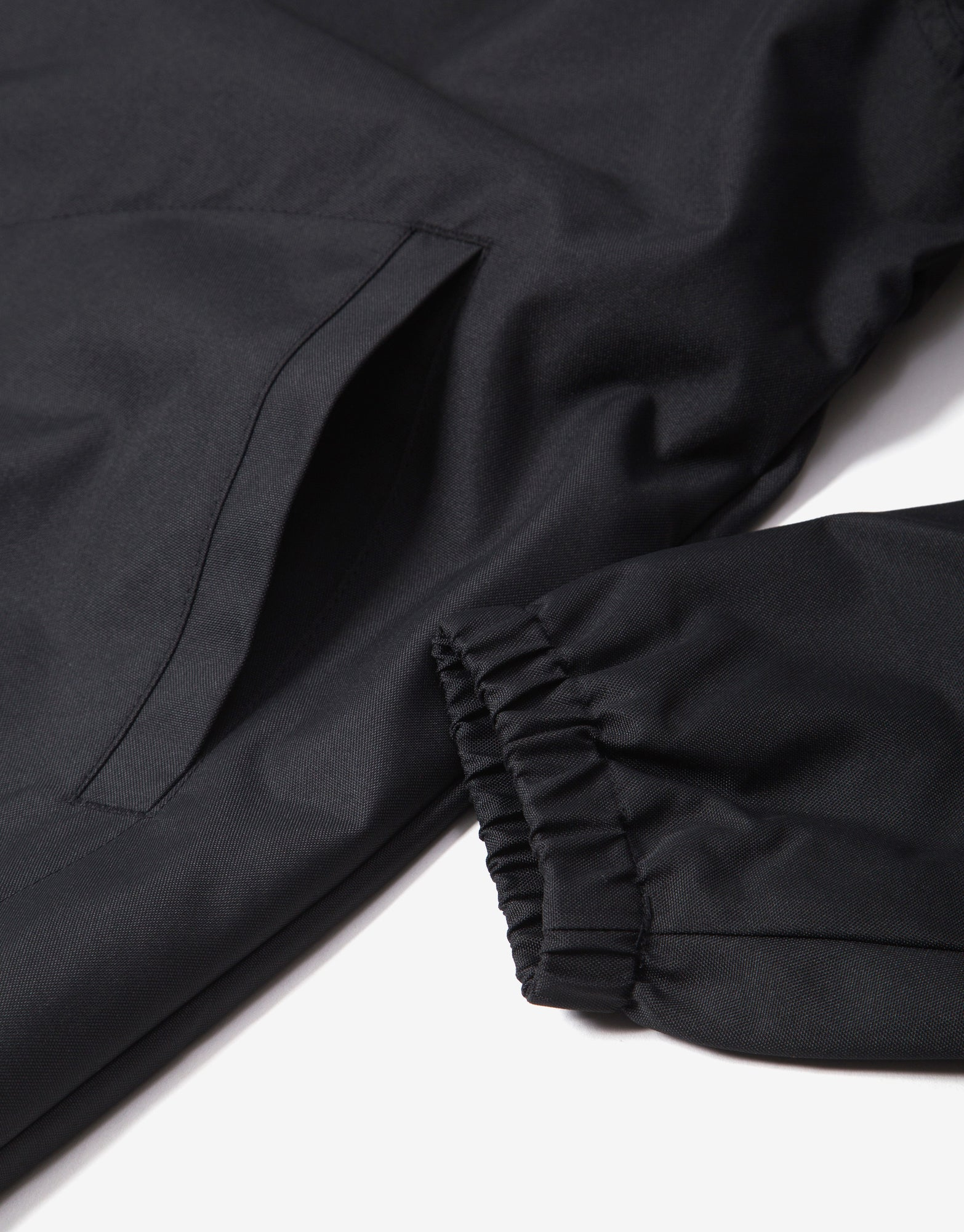 Brixton Claxton Alton Zip Jacket - Black/White