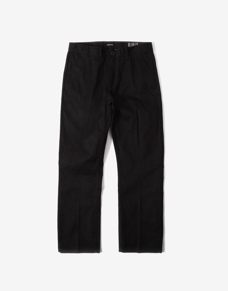 Brixton Fleet Rigid Chino Pant - Black