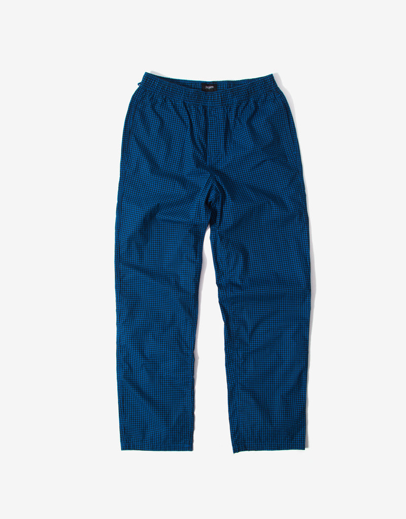 Brixton Steady Elastic Waistband Pants - Royal Blue Gingham