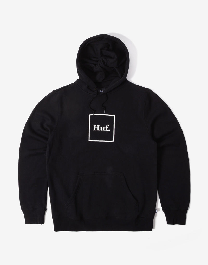 HUF Box Logo Hoody - Black