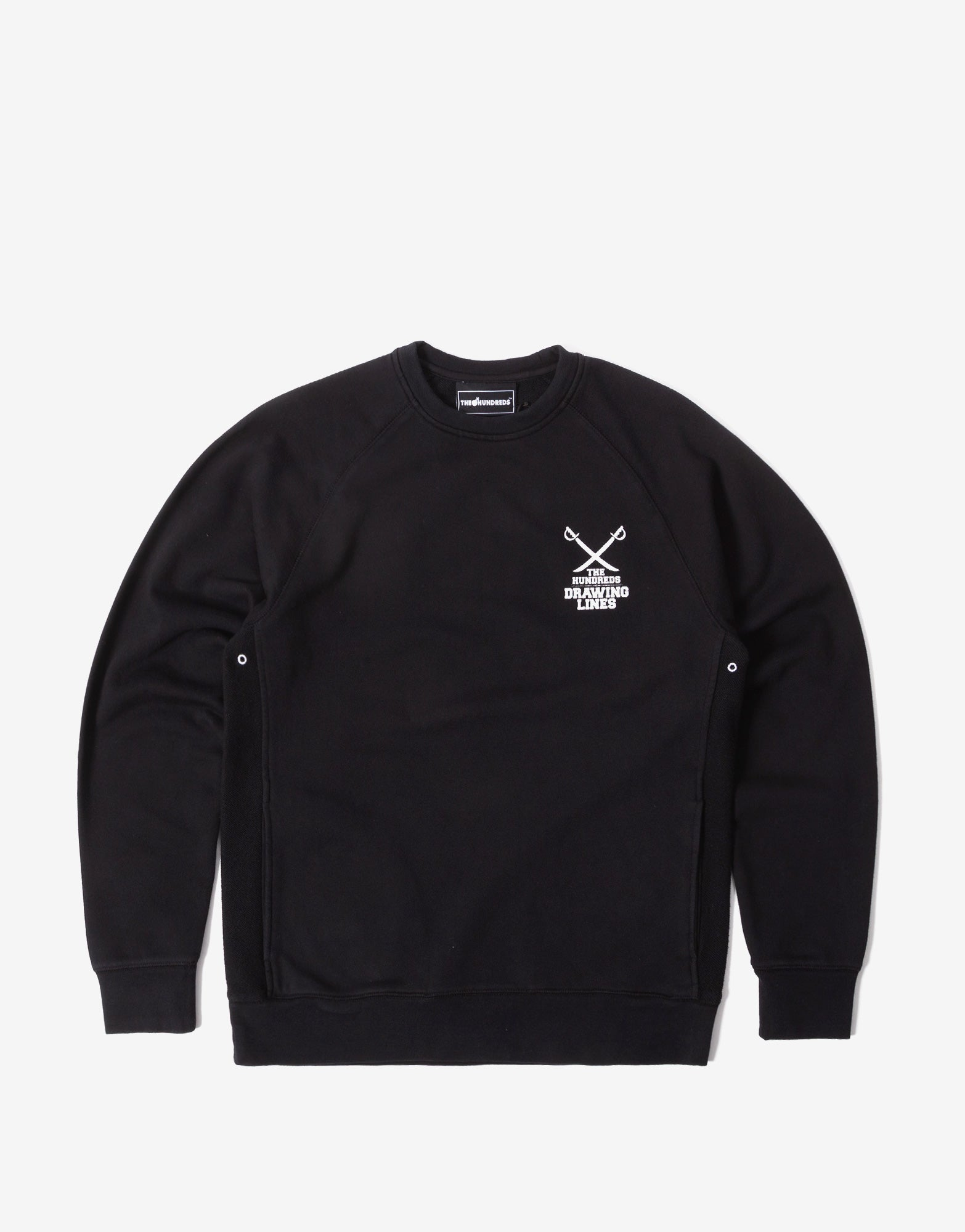 The Hundreds Fillmore Crewneck - Black