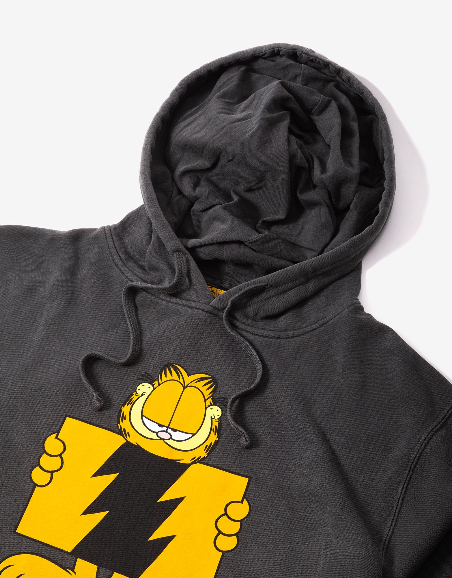 The Hundreds Garfield Flag Pullover - Pigment Black