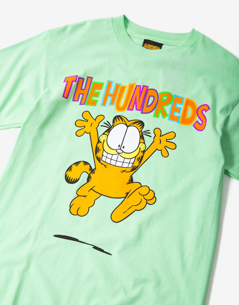 The Hundreds Garfield Run T Shirt - Mint