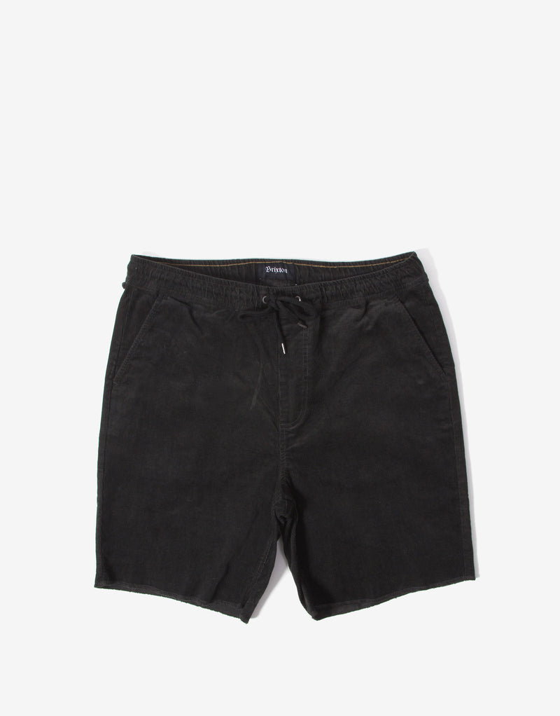 Brixton Madrid II Shorts - Washed Black