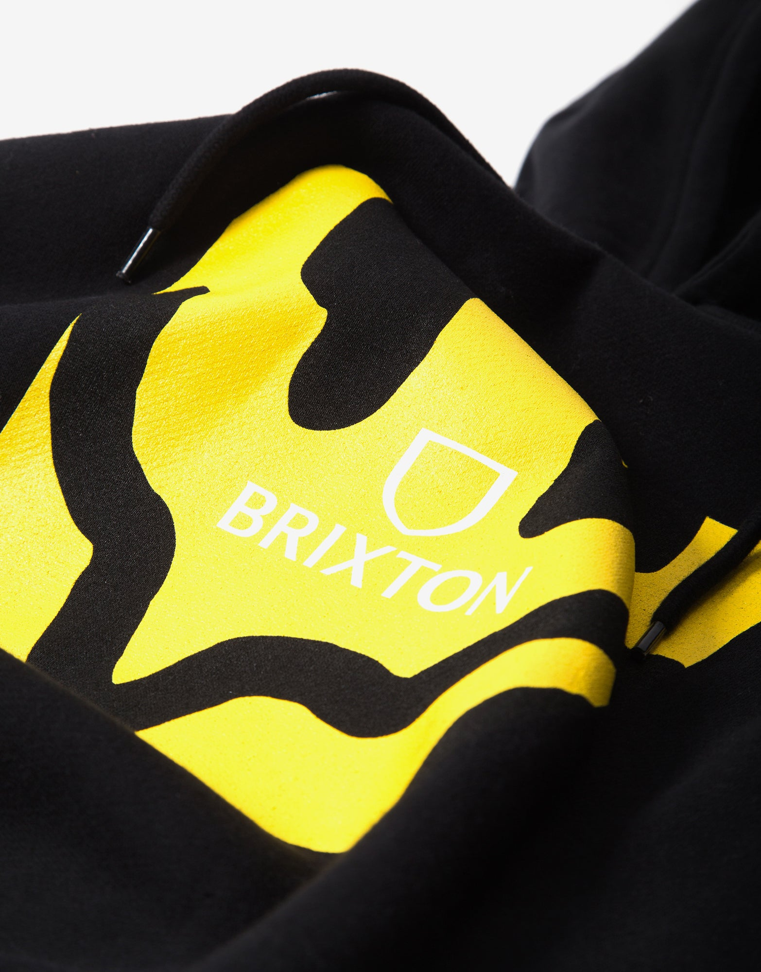 Brixton Melter Square Hoody - Black