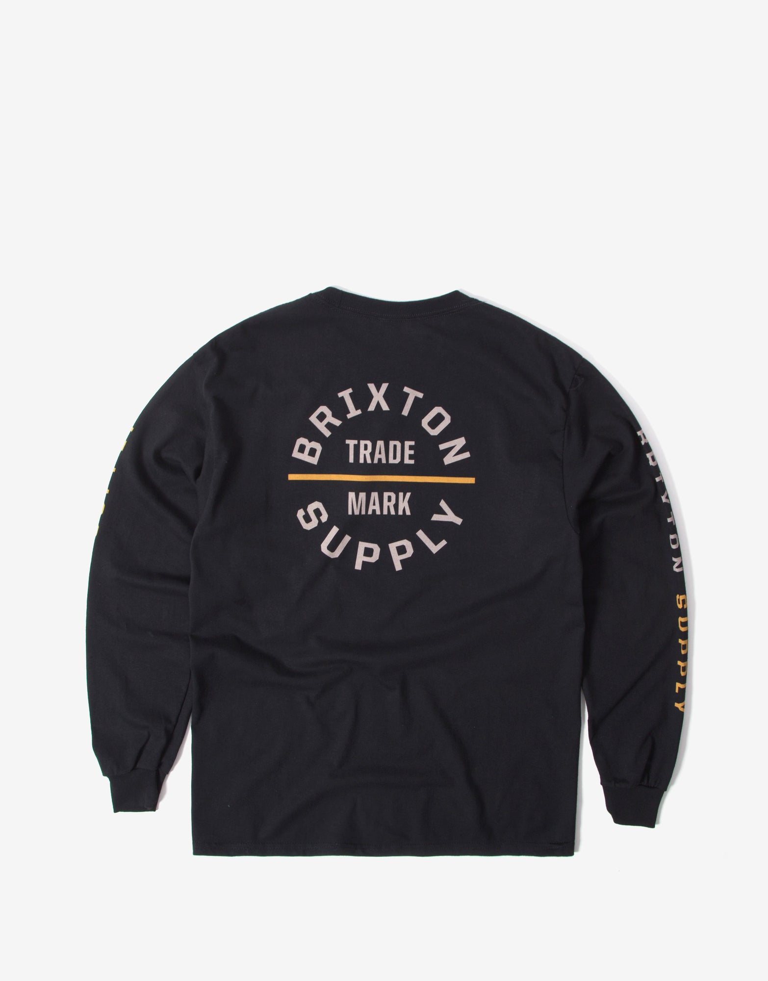 Brixton Oath VI Long Sleeve T Shirt - Black