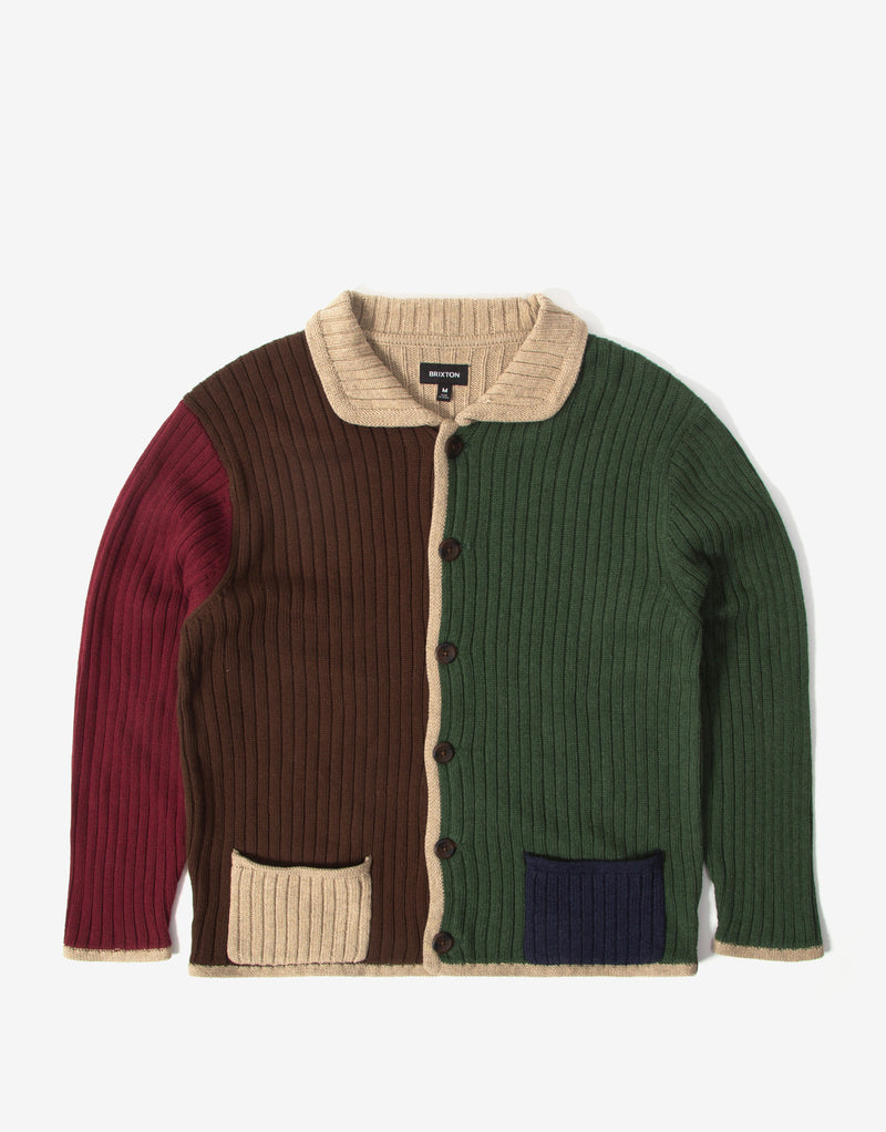 Brixton Powell Cardigan - Multi