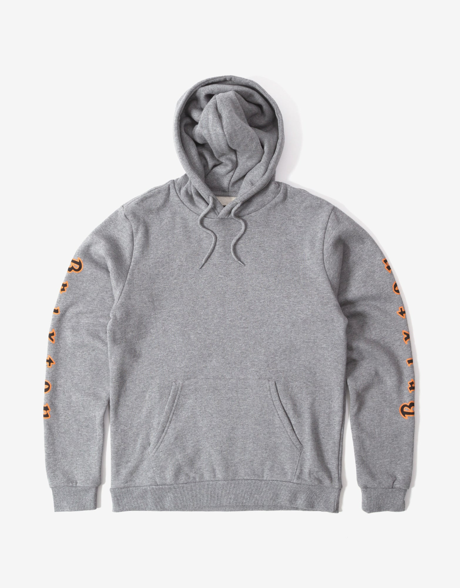 Brixton Primo Hoody - Heather Grey