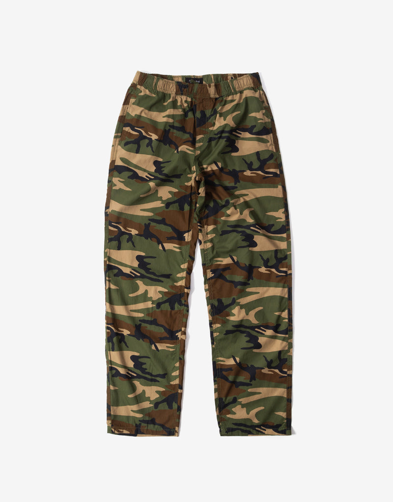 Brixton Steady Elastic Waistband Pants - Woodland Camo