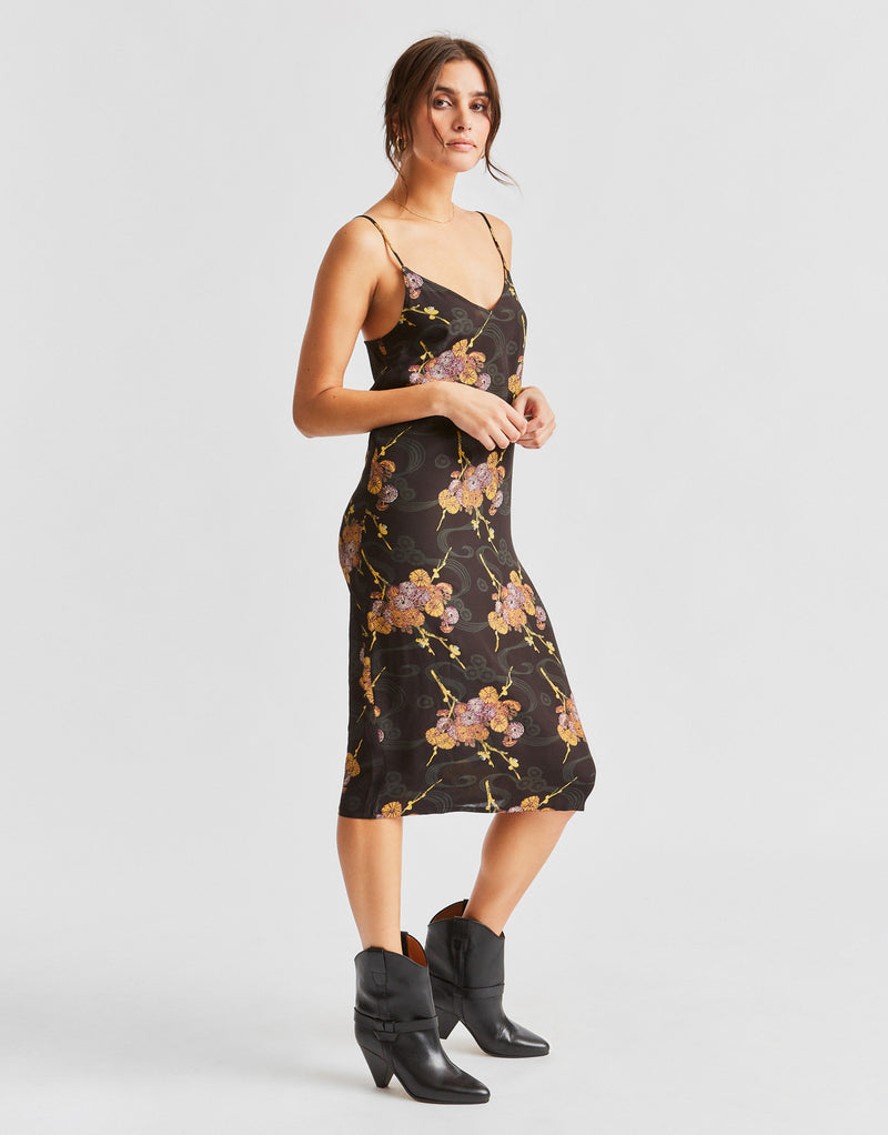 Brixton Women's Heidi Midi Dress - Black