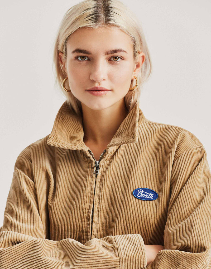 Brixton Women's Utopia Jacket - Khaki