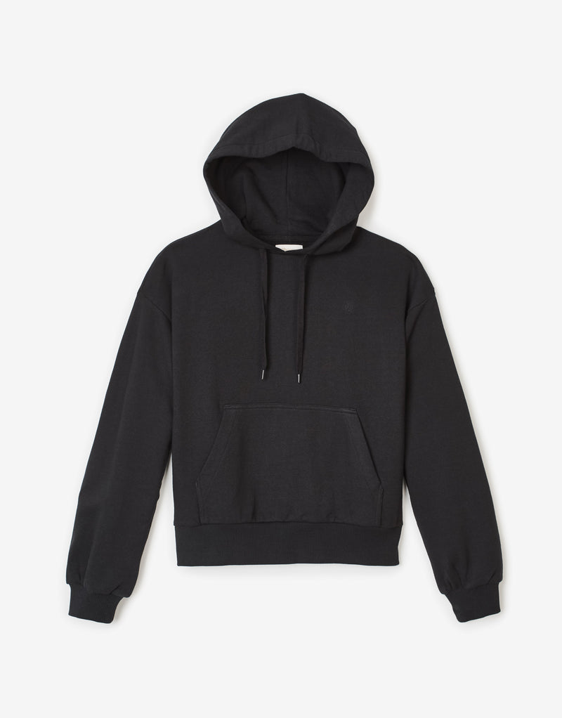 Brixton Women's Vintage French Terry Hoody - Black