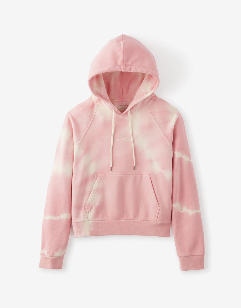 Brixton Women's Vintage Raglan Hoody - Dusty Rose