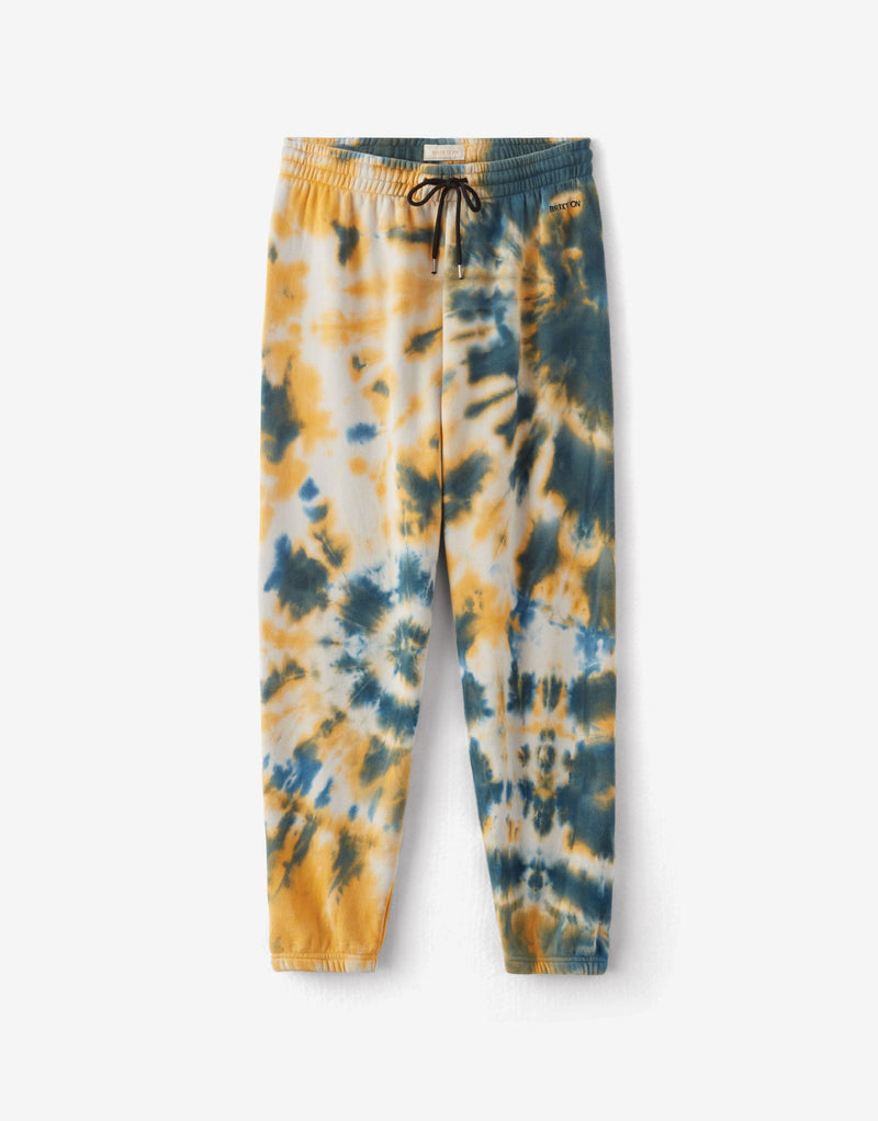 Brixton Women's Vintage Sweatpants - Captain Blue
