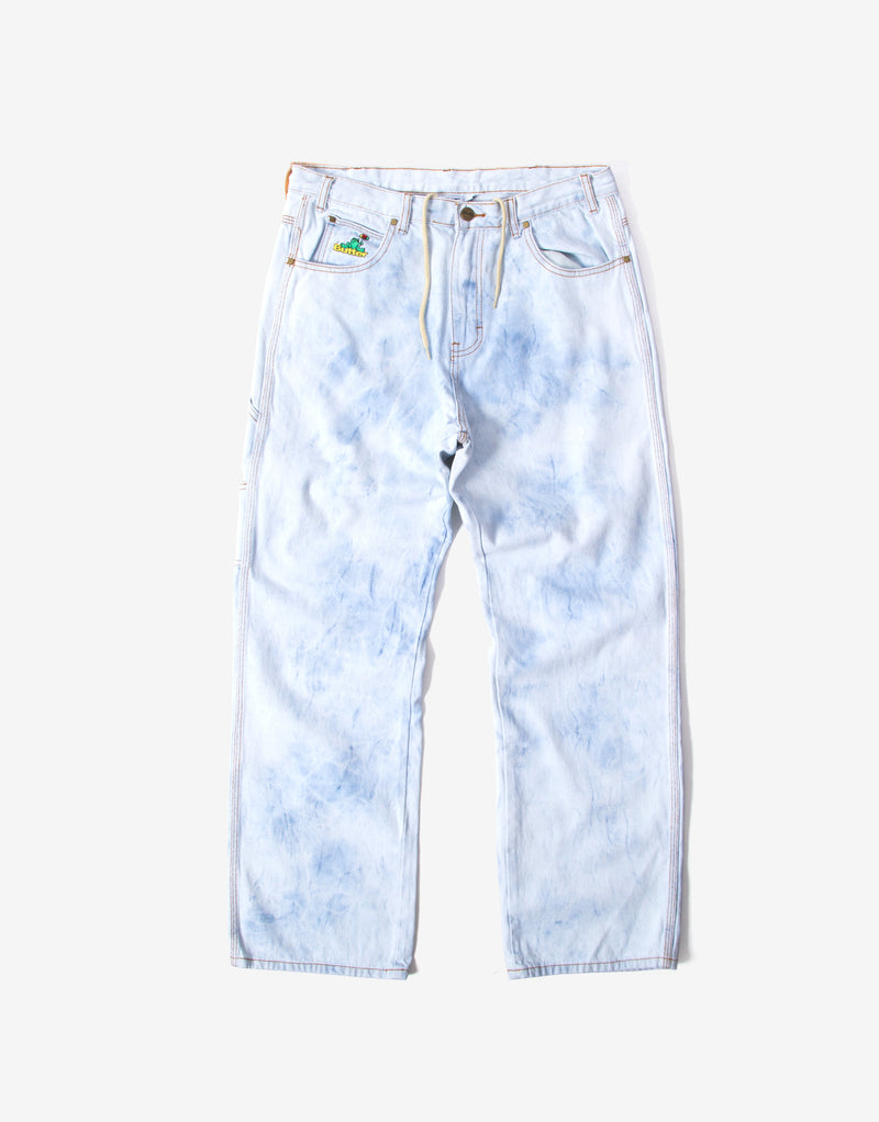 Butter Goods Frog Denim Pants - Bleach