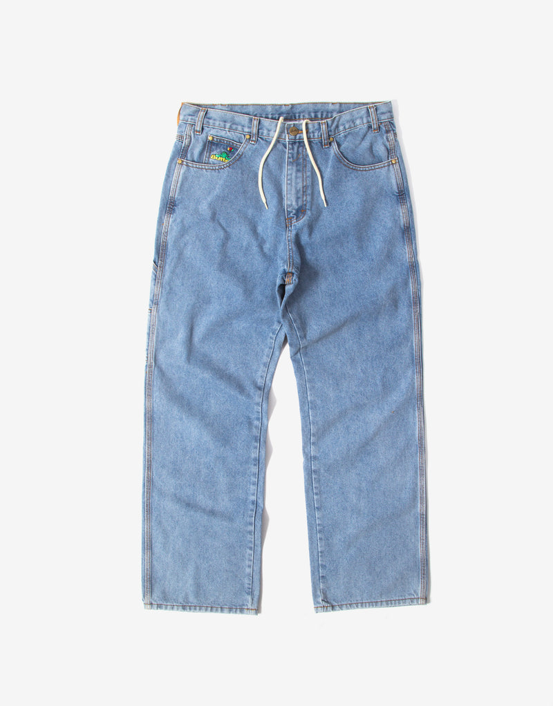 Butter Goods Frog Denim Pants - Light Blue