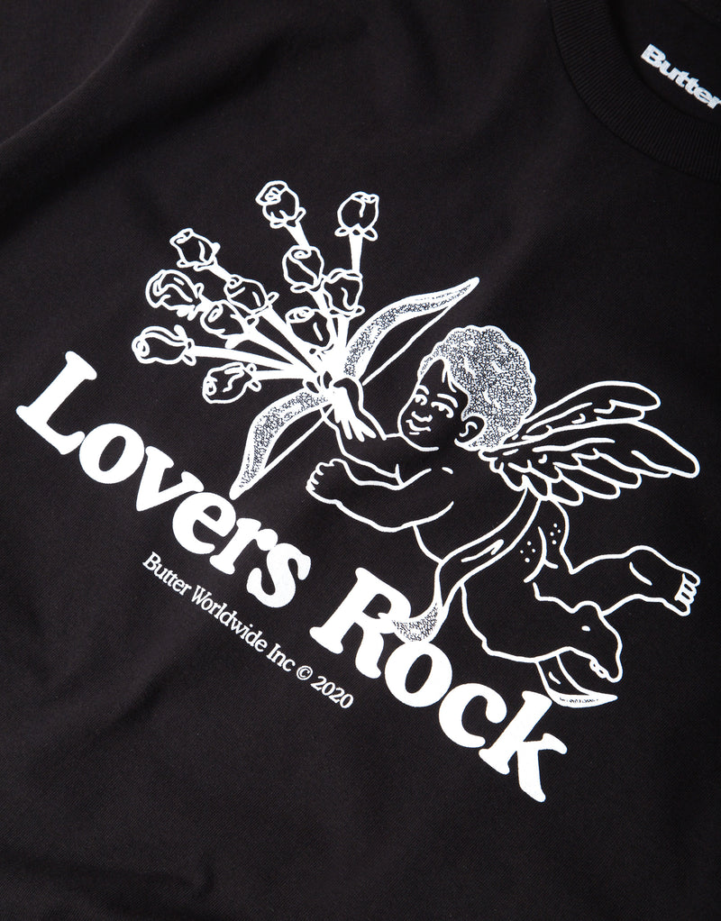 Butter Goods Lovers Rock T Shirt - Black