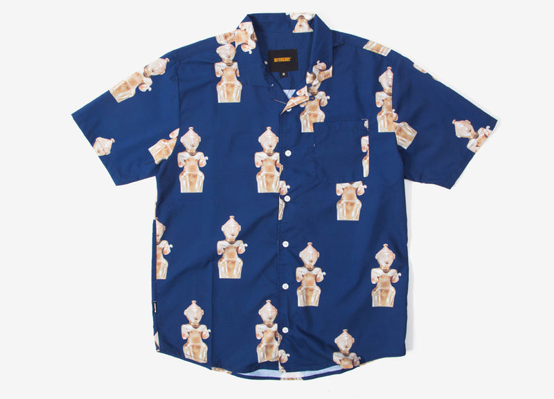 Butter Goods Sculpture Shirt - Navy