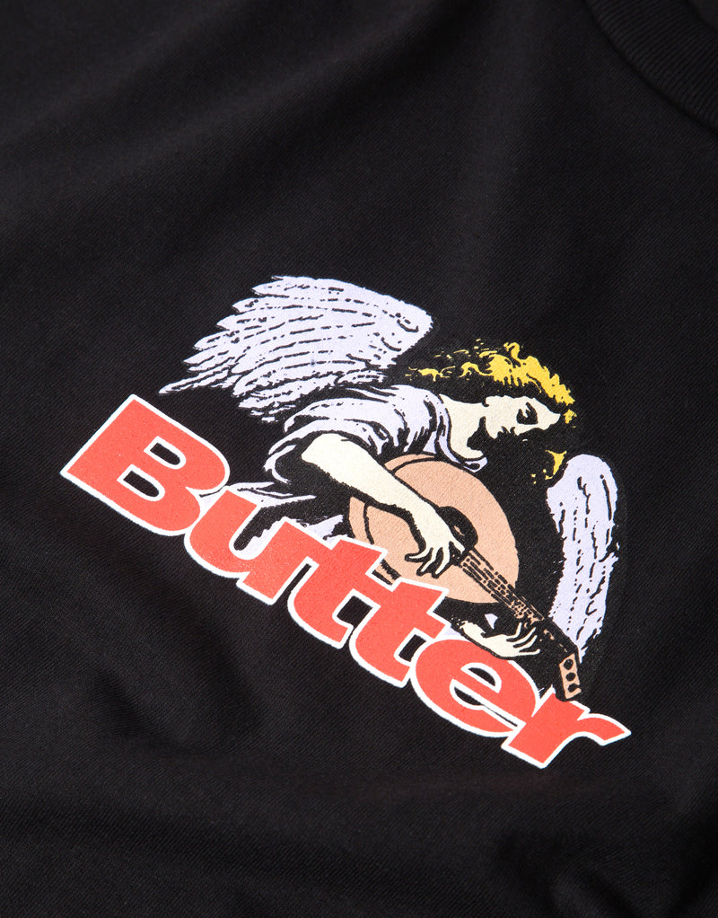 Butter Goods Serenade Logo T Shirt - Black