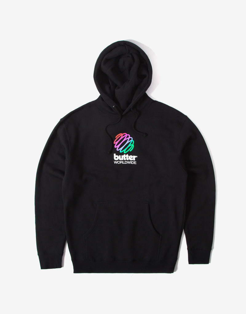 Butter Goods Telecom Hoody - Black