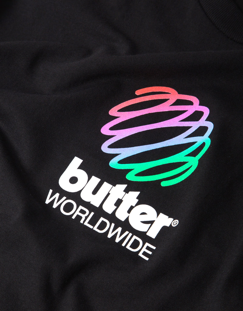 Butter Goods Telecom T Shirt - Black
