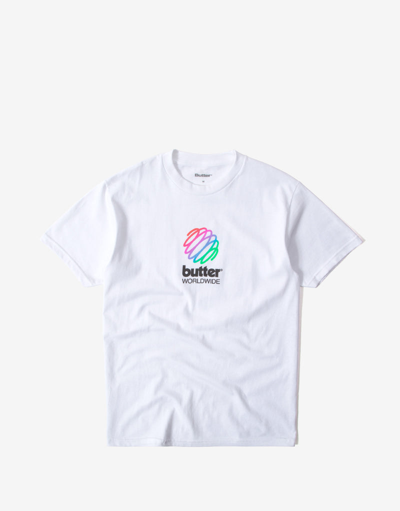 Butter Goods Telecom T Shirt - White