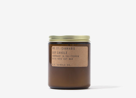 P.F. Candle Co. Cannabis Soy Candle - 7.2o/z
