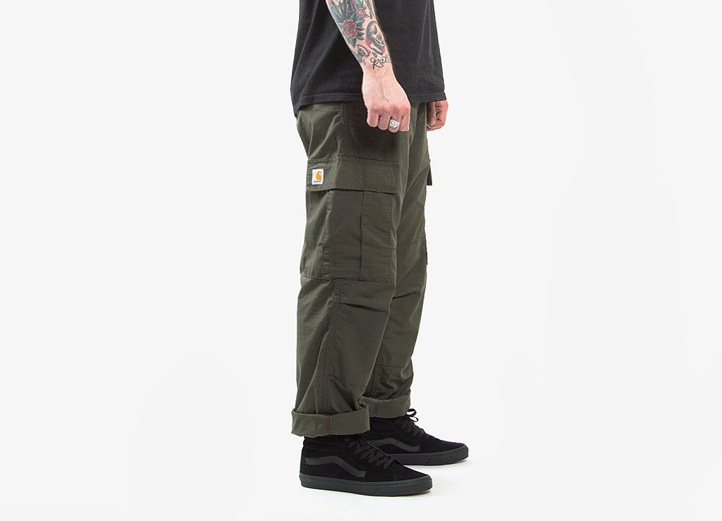 Carhartt Regular Cargo Pant - Cypress Rinsed