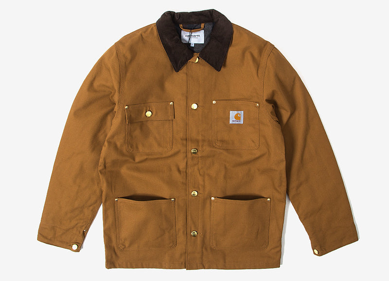 Carhartt Michigan Chore Coat - Hamilton Brown