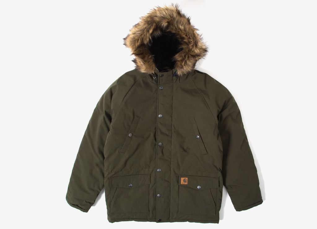 Carhartt Trapper Parka Jacket - Cypress/Black