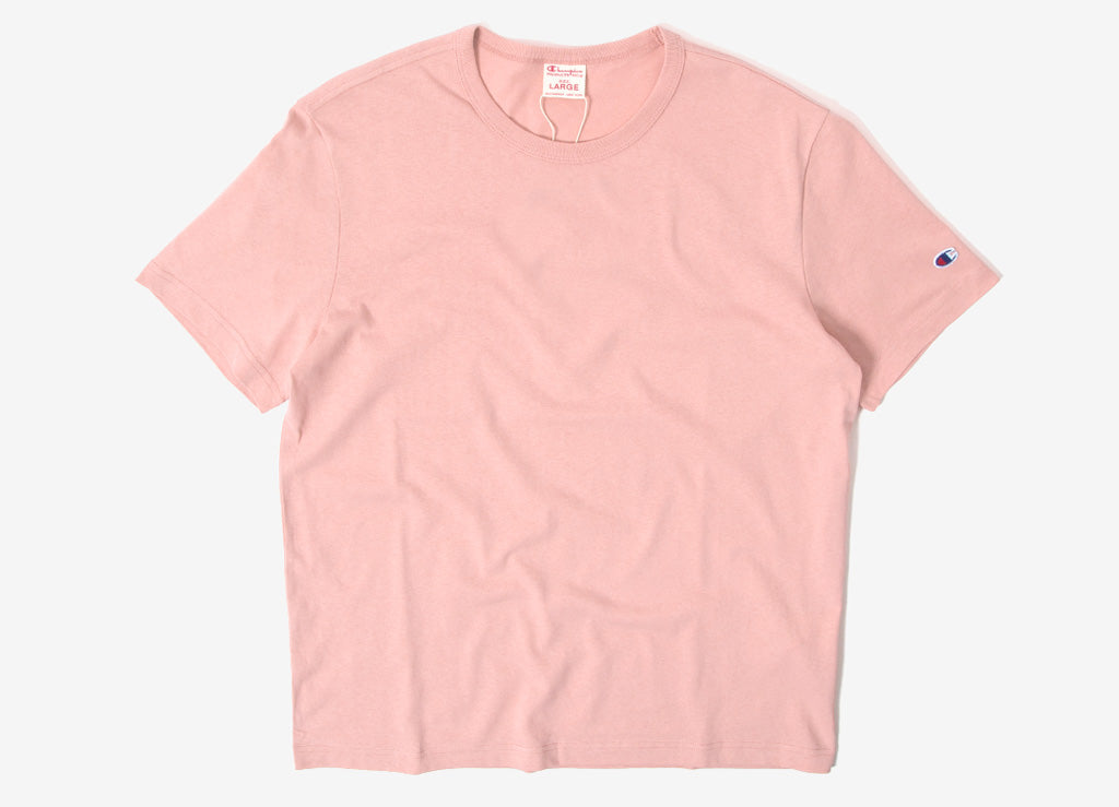 Champion Reverse Weave Classic T Shirt - Rose