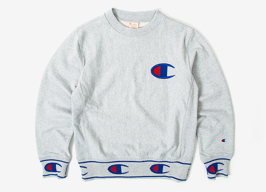 8faf9950fb226 Champion Reverse Weave Sweatshirt - Oxford Grey Melange