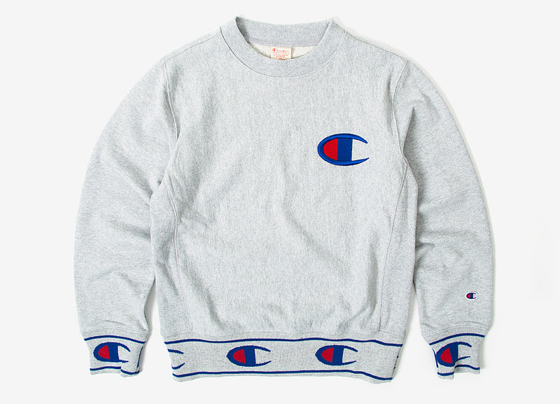 Champion Reverse Weave Sweatshirt - Oxford Grey Melange