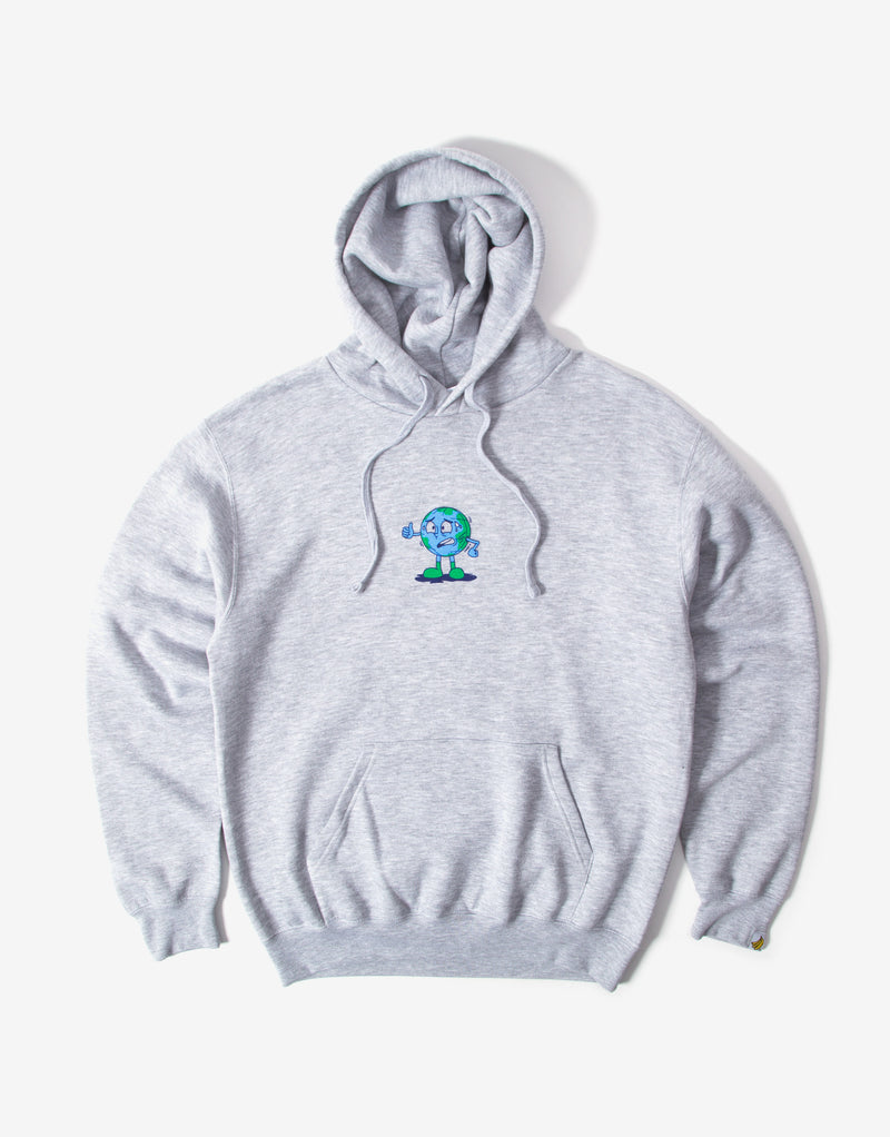 Chimp Doing Just Fine Hoody - Grey
