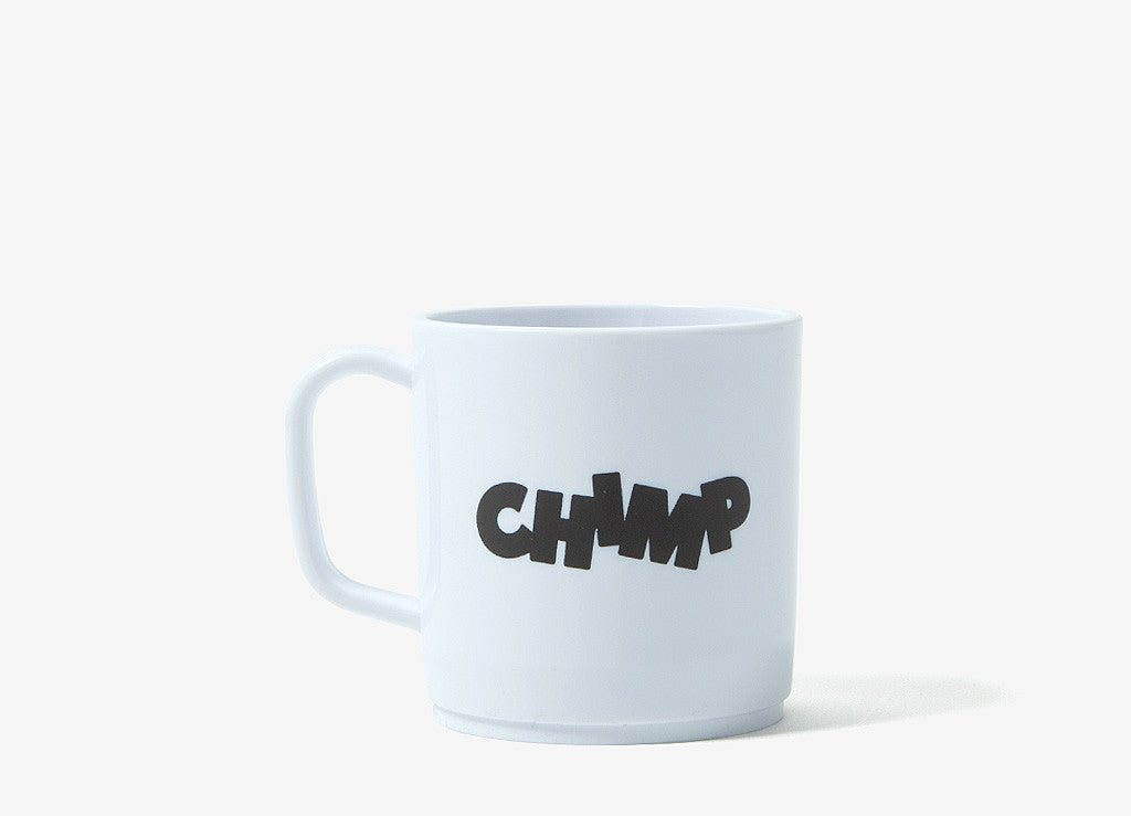 Chimp Plastic Mug - White