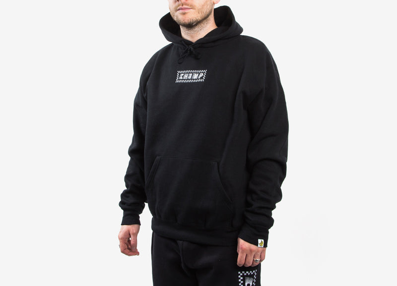 Chimp Raceway Embroidered Pullover Hoody - Black