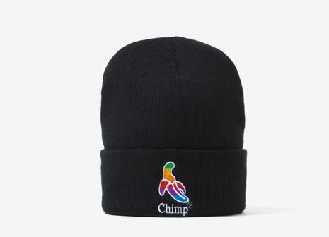 Chimp Throwback Beanie - Black