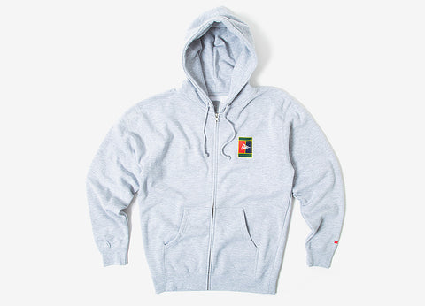 CLSC Serving Zip Hoody - Heather Grey